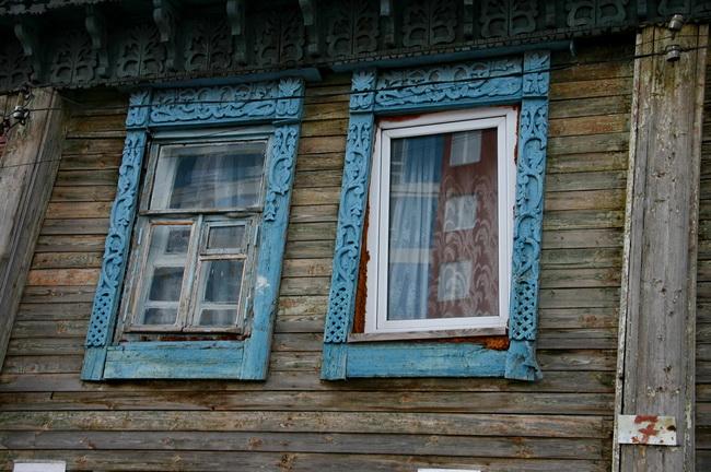 Деревянный дом в Нижнем Новгороде