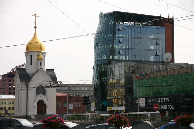 Площадь в Новосибирске