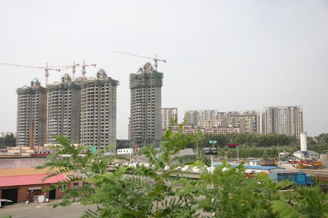 Стройка в Китае