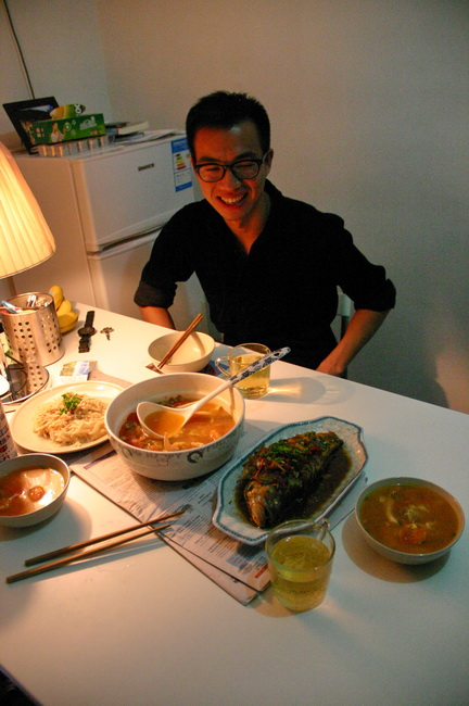 Китайский ужин в гостях у китайца
