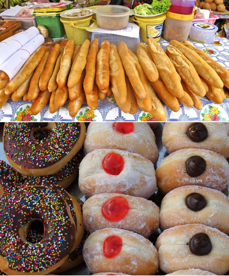 Багеты и пончики в Лаосе