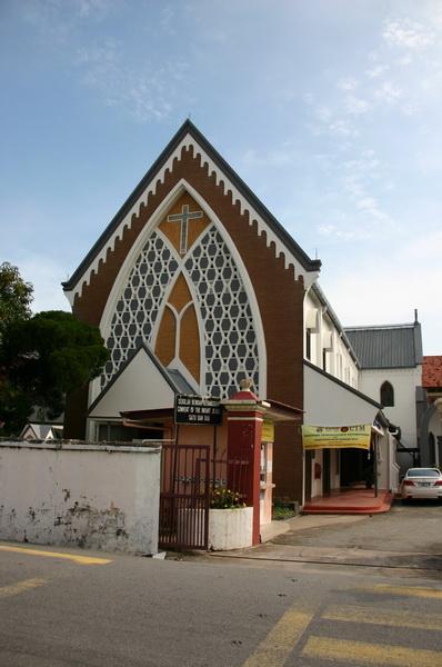 церковь португальский квартал Мелака