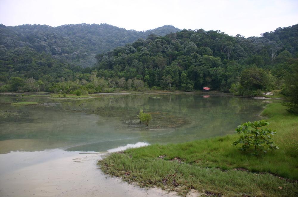 Меромиктическое озеро Пенанг