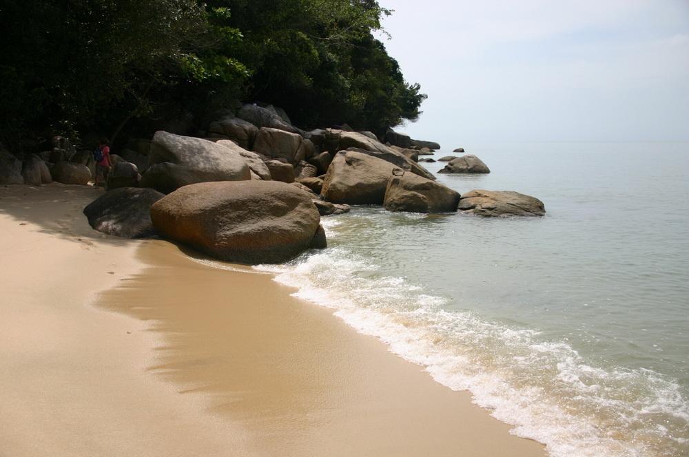 черепаший пляж на Пенанге