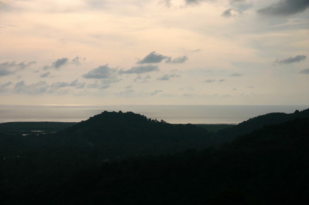 Вид на Пенанг