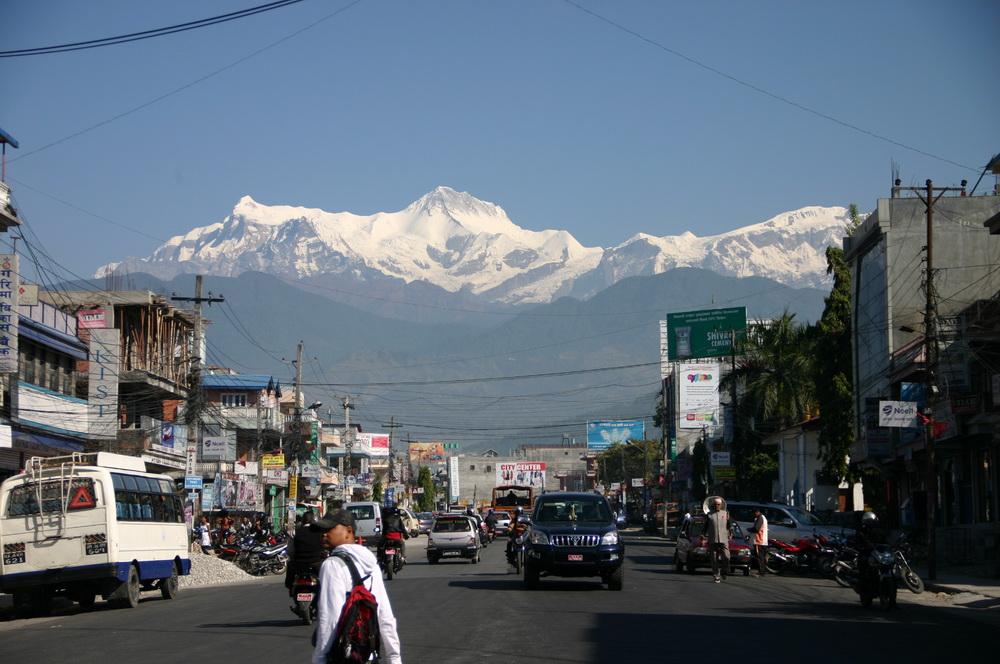 Покхара горы