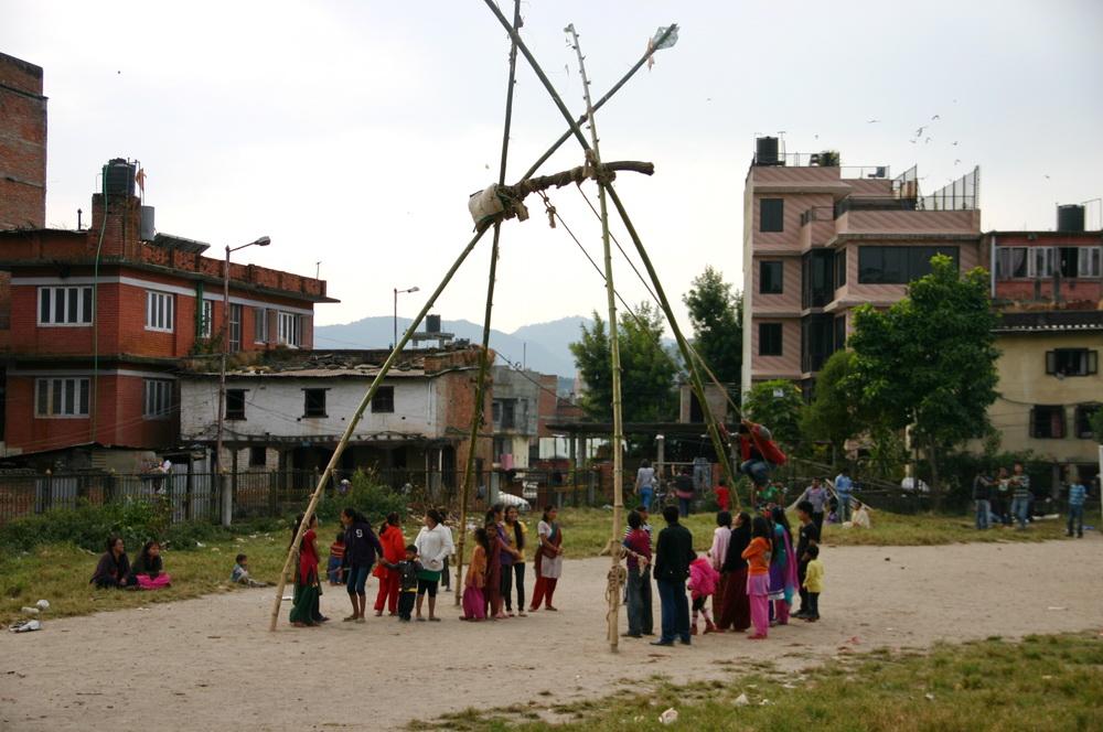 Качели Катманду