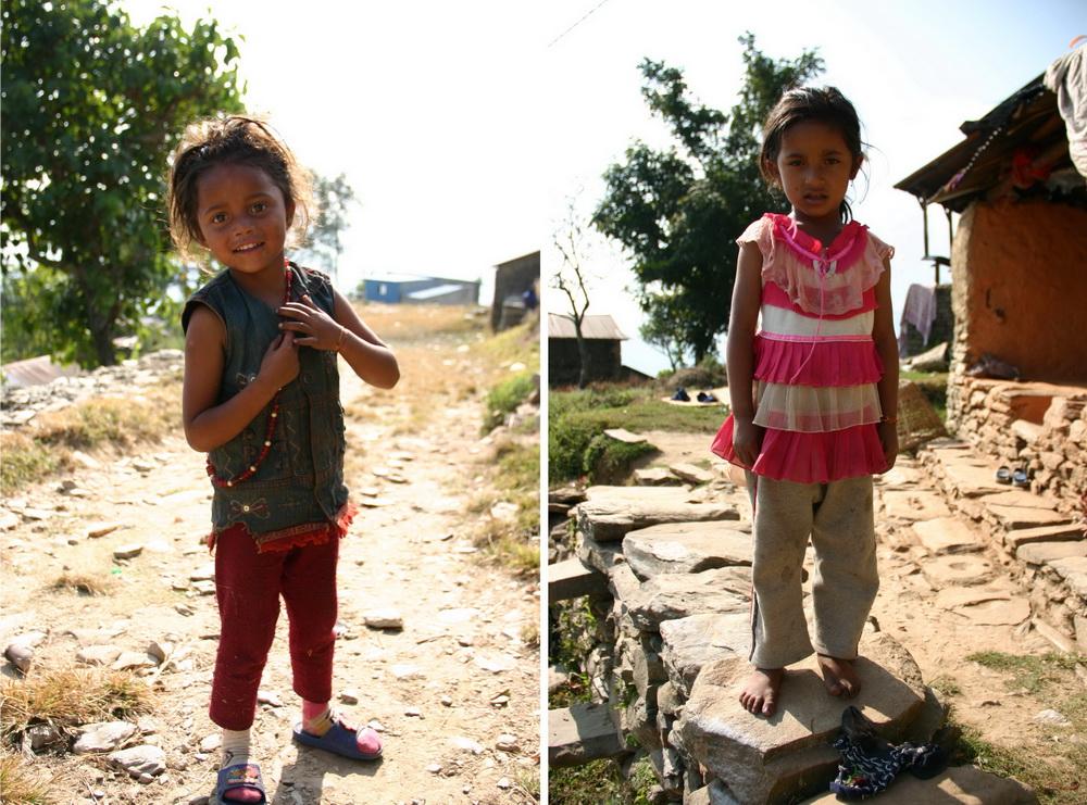 Попрошайки в Непале