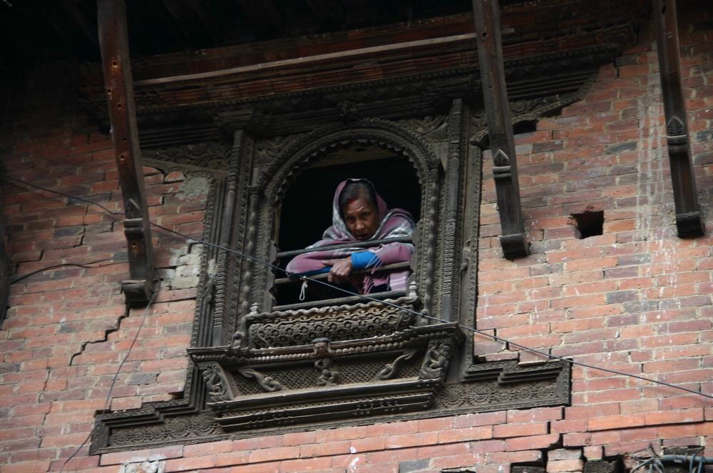 Деревянные барельефы Непал