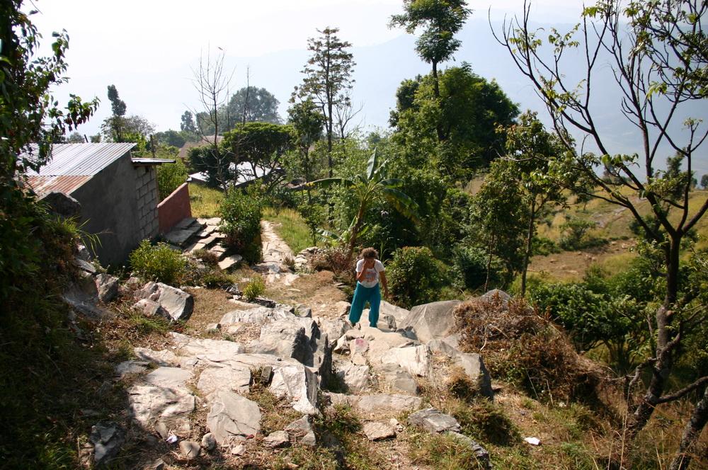 Подъём в Сарангкот