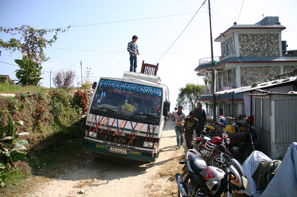 Автобус на Сарангкот