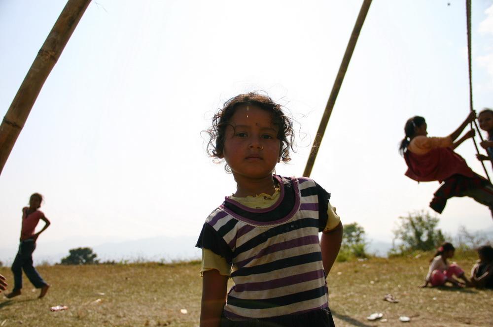 Девочка Непал
