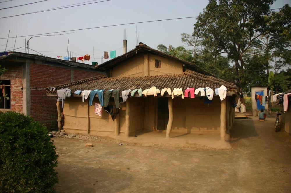 Дом-мазанка Непал