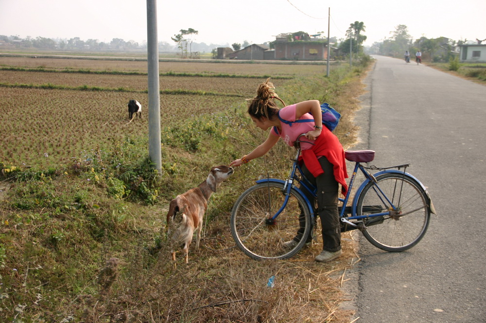 На велосипеда по Непалу