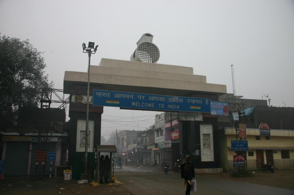 Непал Индия Сонаули Sonauli