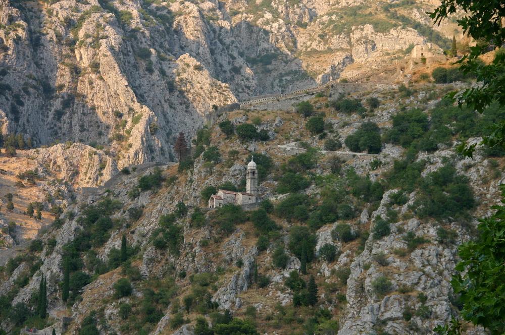 Крепостные стены Котор
