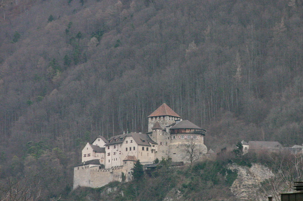Замок в Лихтенштейне