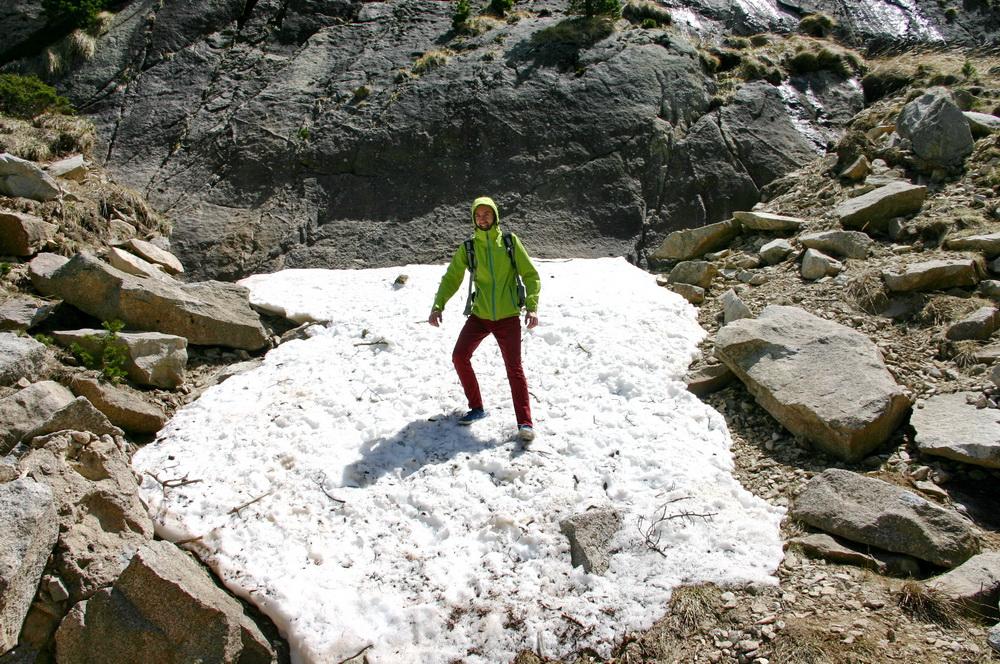 Снег в Пиренеях