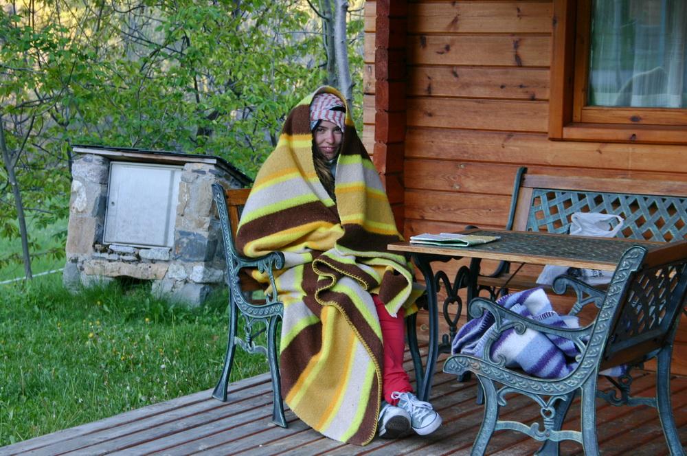 В Пиренеях весной холодно