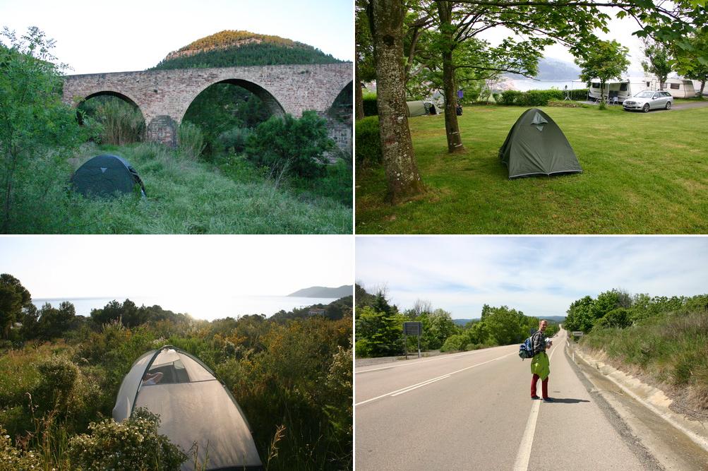В Испанию с палаткой