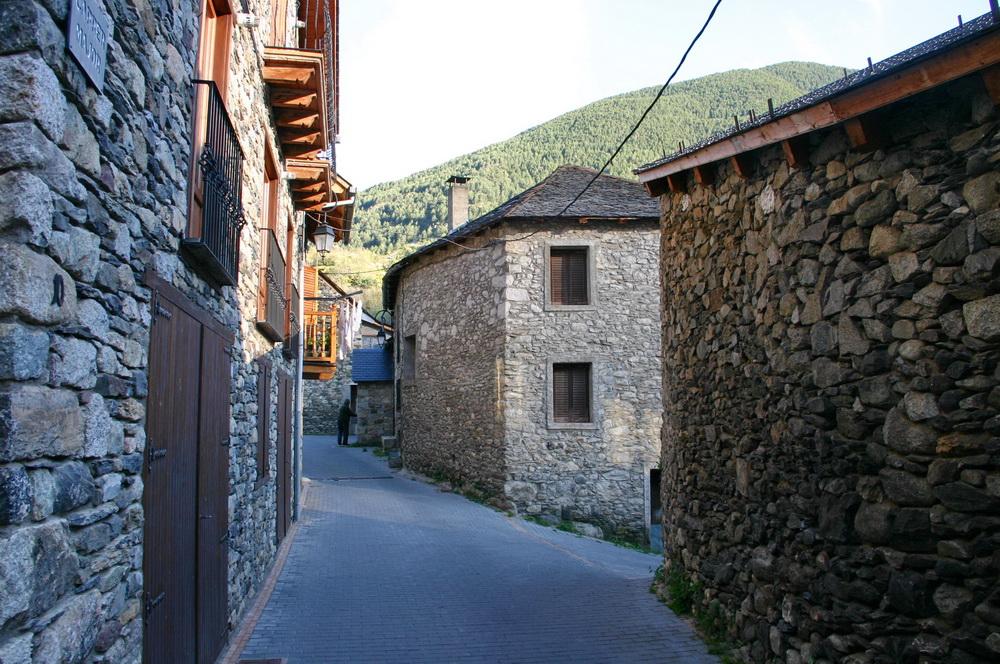 Деревня в Пиренеях