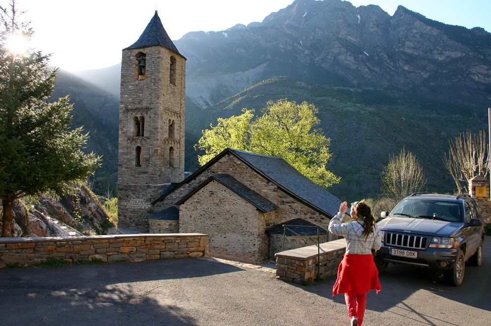 Валь де Бои романская церковь