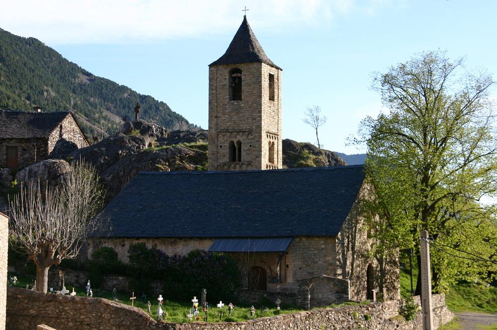 Романская церковь в Валь-де-Бои