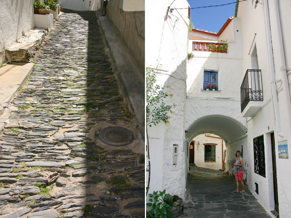Кадакес - старый город