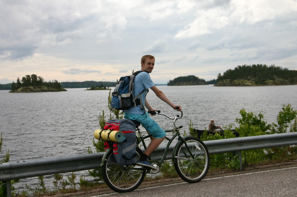 на велосипеде в финляндию