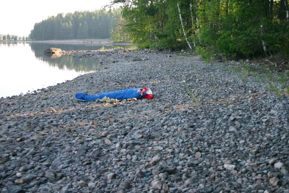 Сон на берегу Саймы