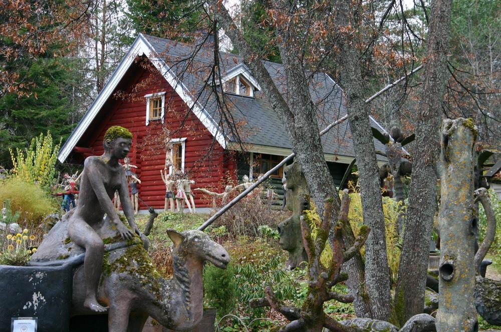 Дом Вейо Рёнккёнена