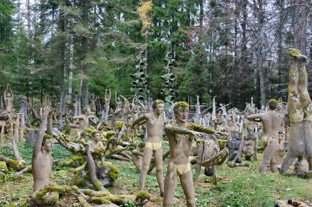 Йога скульптуры Париккала