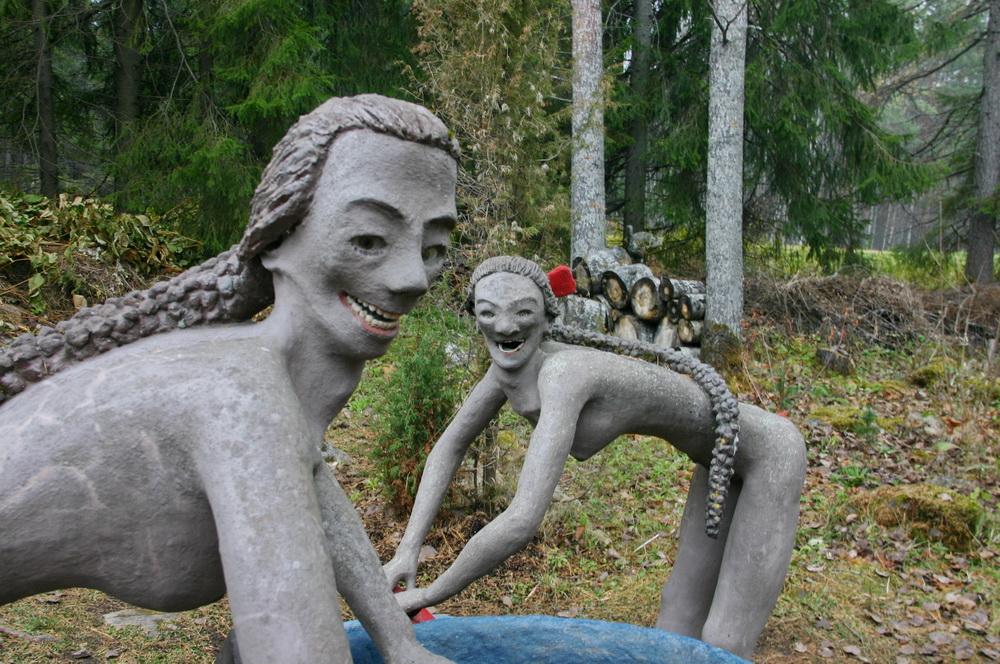 Парк скульптур в Париккале