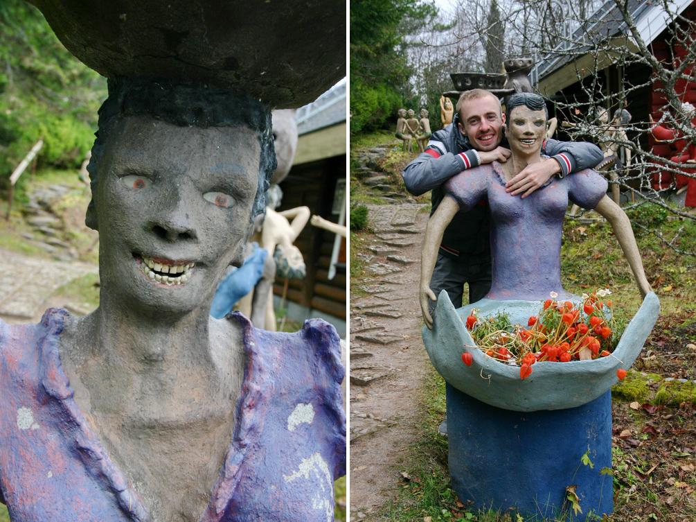 Скульптуры Вейо Рёнккёнена