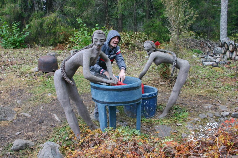 Скульптуры Париккала