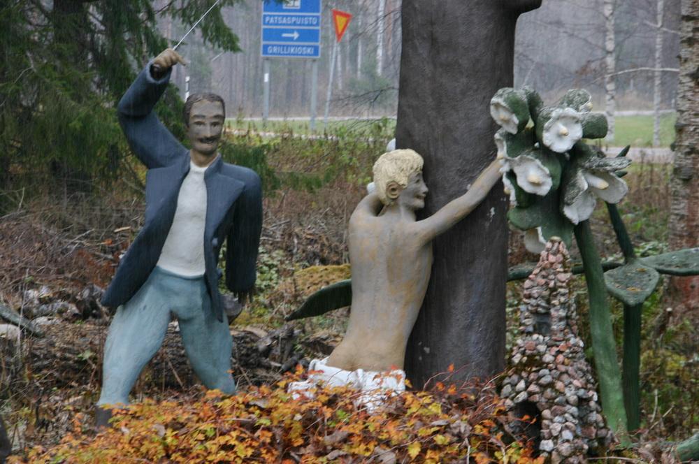Париккала парк скульптур
