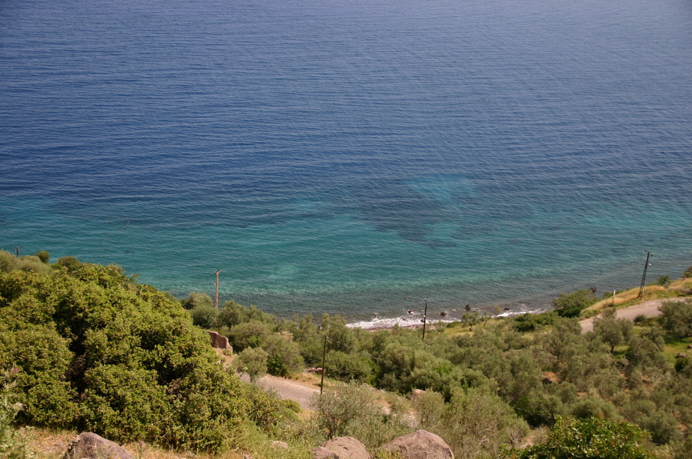 Море в Ассосе Бехрамкале