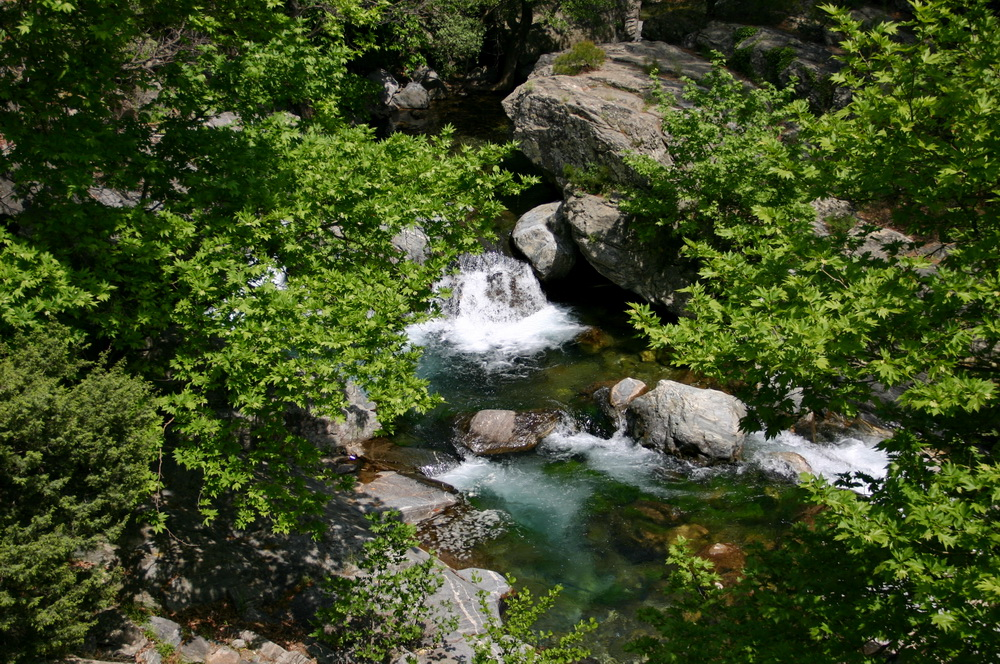 Горная река на Kazdagi