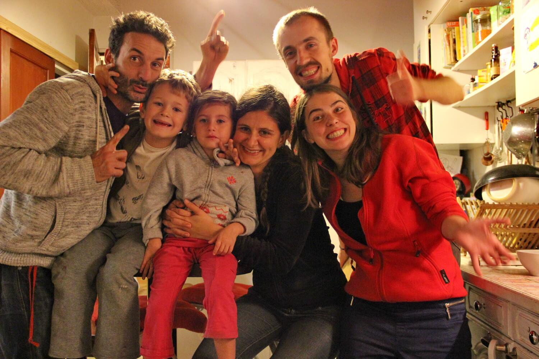 Гостеприимная семья